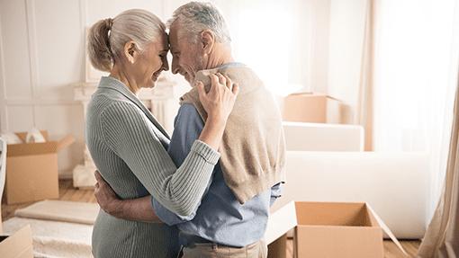 senior moving couple mn
